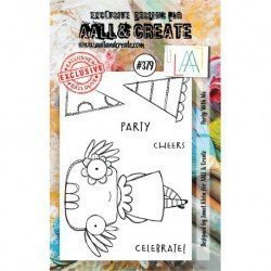 Tampon transparent - Party with me - n°379 - AALL & Create