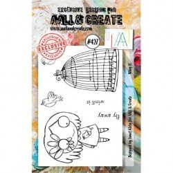 Tampon transparent - Wing It - n°427 - AALL & Create