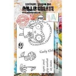 Tampon transparent - Curly Girl - n°480 - AALL & Create