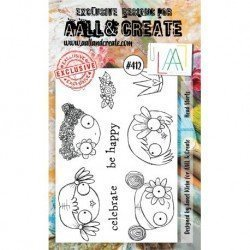Tampon transparent - Head Starts - n°412 - AALL & Create