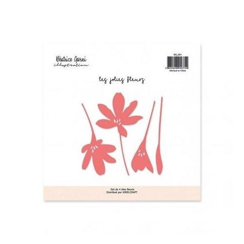 Matrices de coupe - Les jolies fleurs - Béatrice Garni