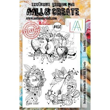Tampon transparent - Basic Fruits - n°450 - AALL & Create
