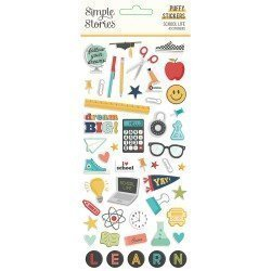 Stickers puffy - School Life - Simple Stories
