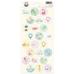 Stickers ronds - Summer Vibes - P13