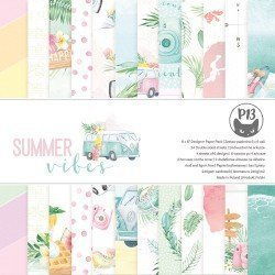 Paper pad 15x15 - Summer Vibes - P13