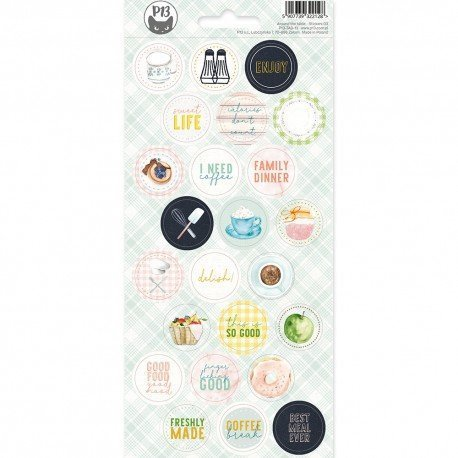 Stickers ronds - Around the table - P13