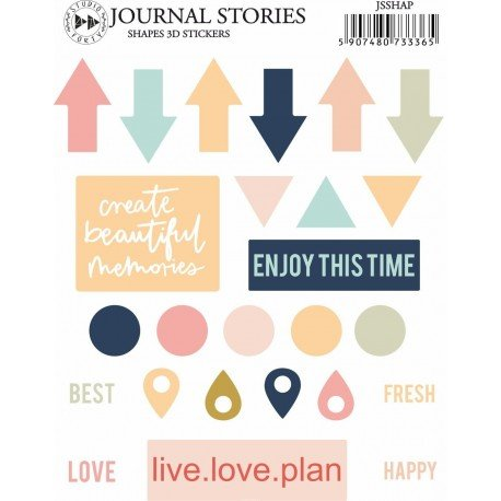 Enamel dots - Formes - Journal Stories - Studio Forty