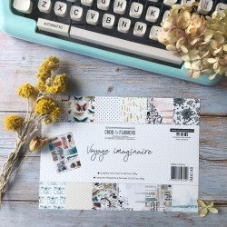 Collection A4 – Voyage Imaginaire - Chou & Flowers