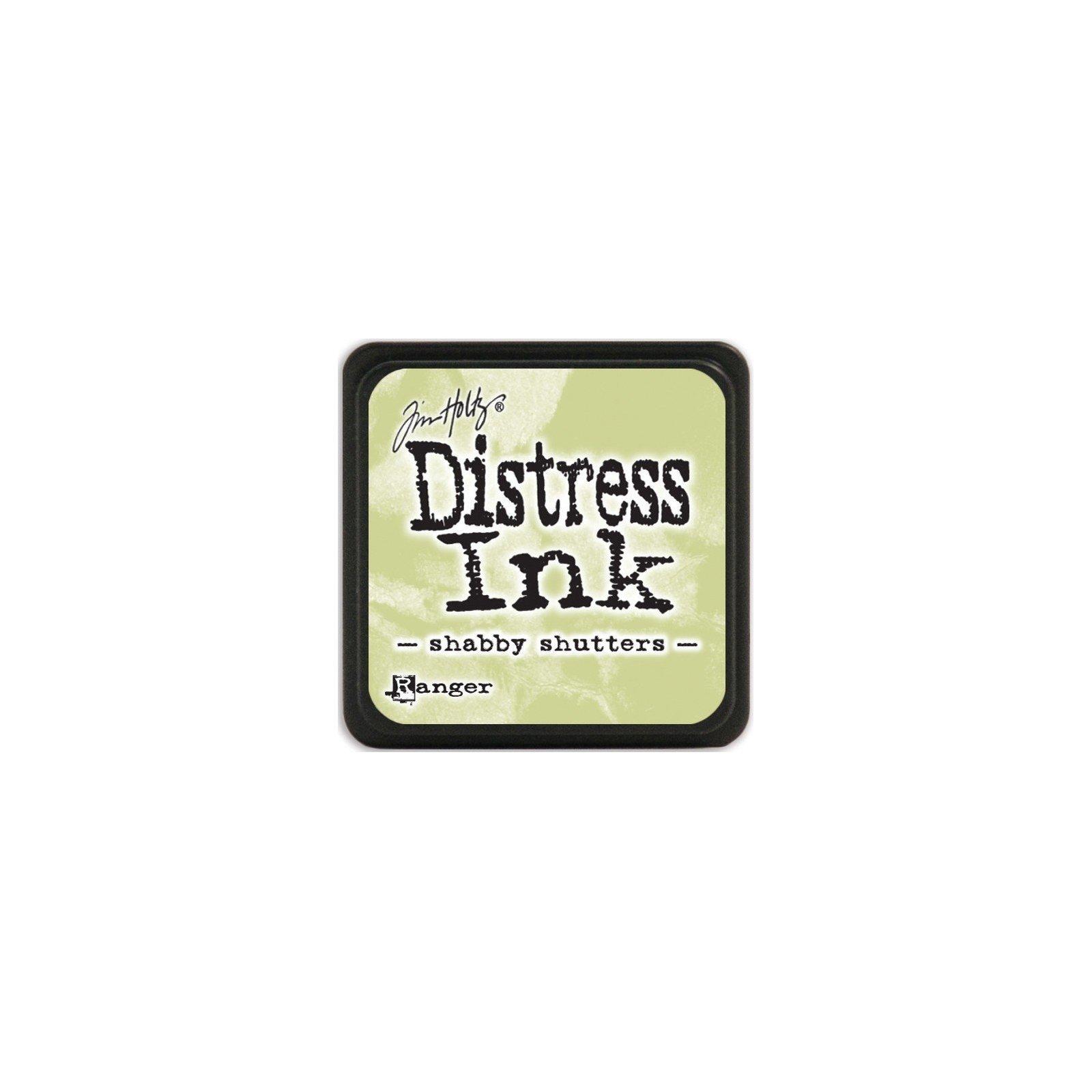 Mini encreur vert clair Distress - Shabby Shutters - Ranger