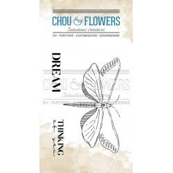 Tampon clear - Butterly - Voyage Imaginaire - Chou & Flowers