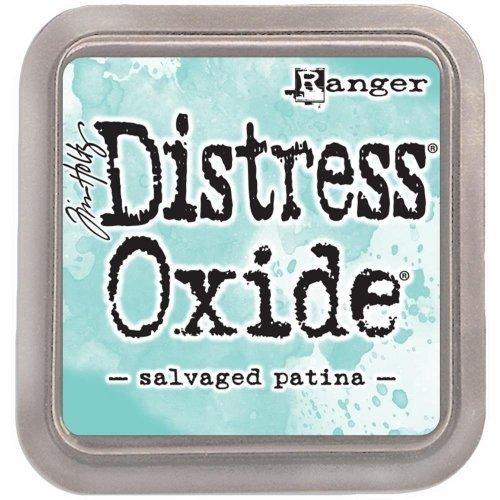 Grand encreur bleu Distress Oxide - Salvaged Patina - Ranger