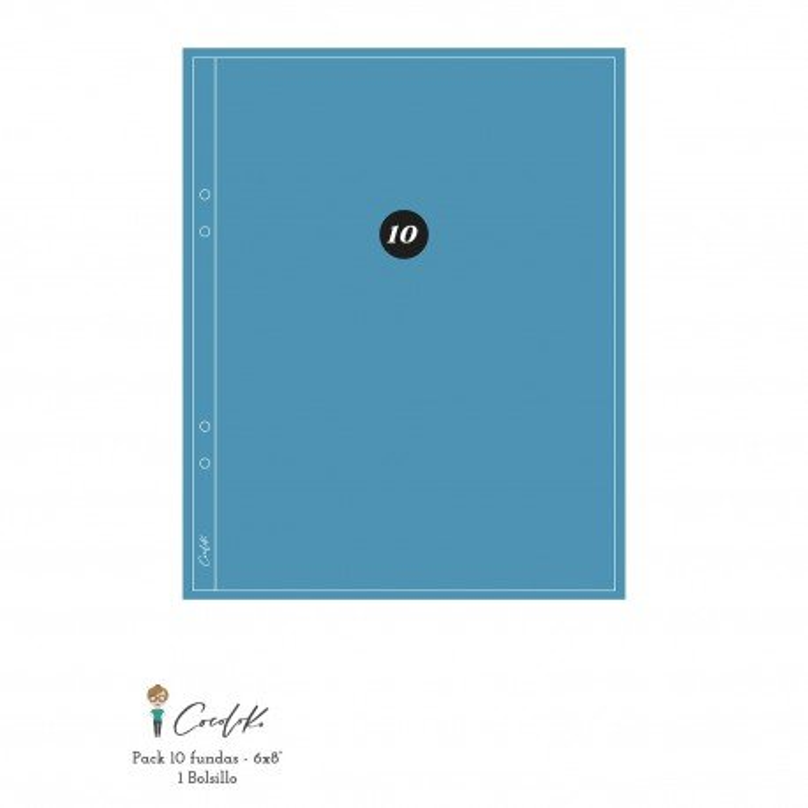 Pochettes plastiques 15 x 20 - Design 1D - Cocoloko