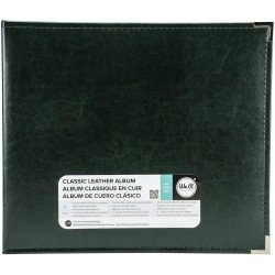 Album - Noir - Black - Faux Leather - 30x30 - We R Memory Keepers