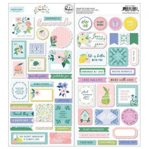 Stickers - Happy Blooms - Pink Fresh Studio