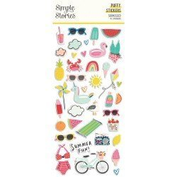 Stickers puffy - Sunkissed - Simple Stories