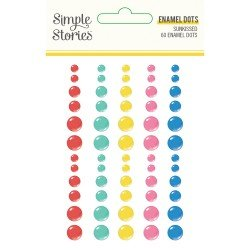 Enamel dots - Sunkissed - Simple Stories
