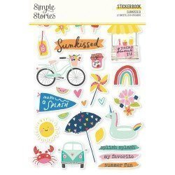 Sticker Book - Sunkissed - Simple Stories
