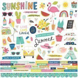 Stickers - Sunkissed - Simple Stories