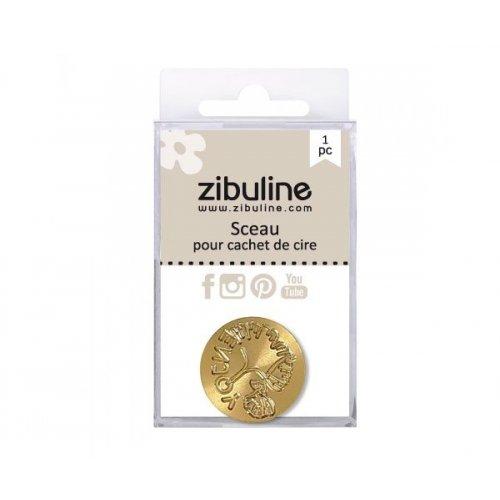 Sceau - Ginkgo enjoy (par Binka) - Cachet de cire - Zibuline