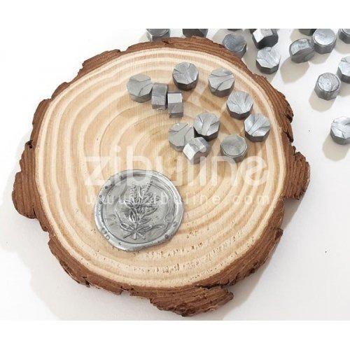 Pastilles de cire - Argenté nacré - Zibuline