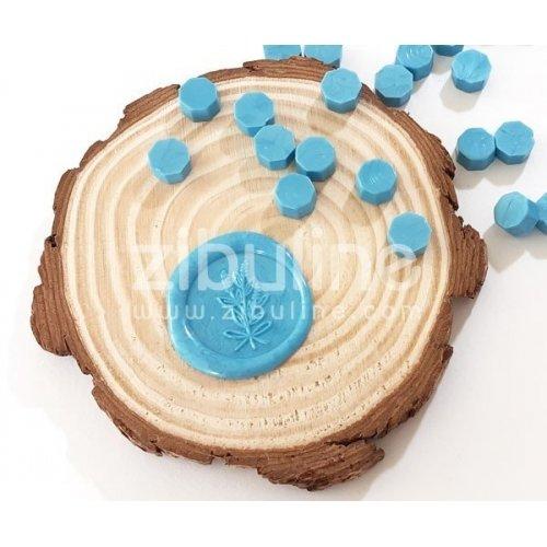 Pastilles de cire - Bleu ciel - Zibuline