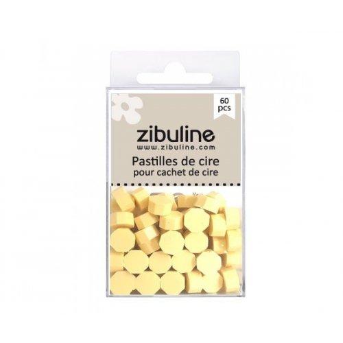 Pastilles de cire - Jaune pâle - Zibuline
