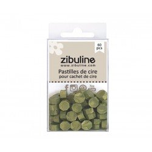 Pastilles de cire - Kaki nacré - Zibuline