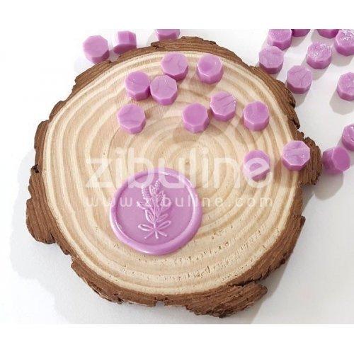 Pastilles de cire - Rose nacré - Zibuline