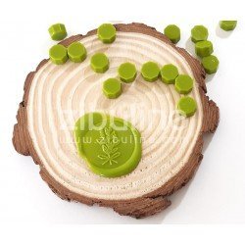 Pastilles de cire - Vert anis - Zibuline