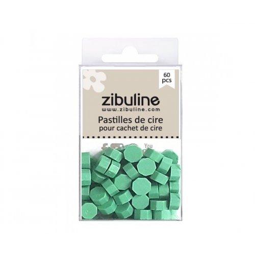 Pastilles de cire - Vert sauge - Zibuline