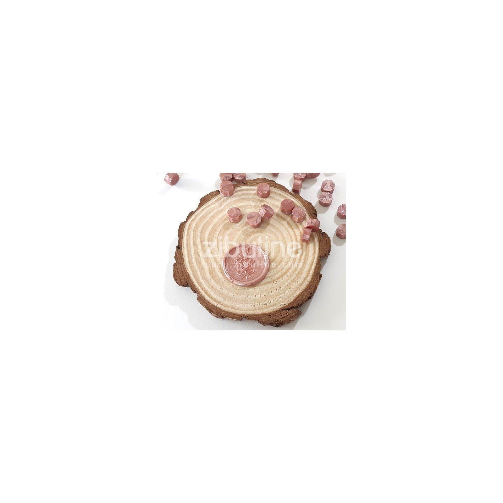 Pastilles de cire - Vieux rose nacré - Zibuline