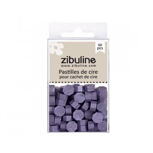 Pastilles de cire - Violet clair nacré - Zibuline