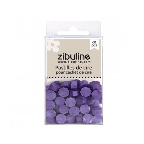 Pastilles de cire - Violet nacré - Zibuline