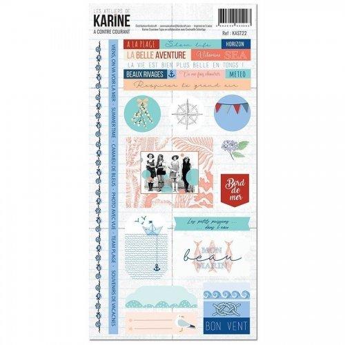 Stickers - A contre courant - Les ateliers de Karine