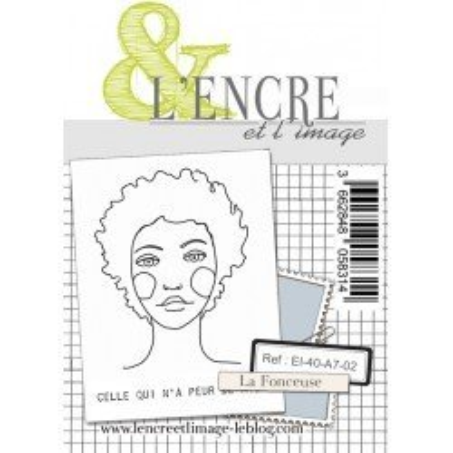 Tampon clear - La fonceuse - Collection 40 - L'encre et l'Image