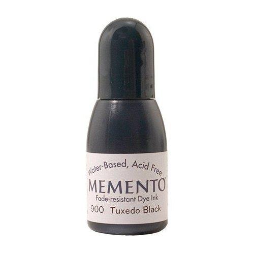 Recharge Memento 15 ml - Noir - Tuxedo Black - Tsukineko