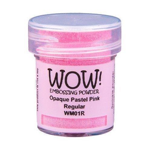 Poudre à embosser - Opaque Pastel Pink - WOW!