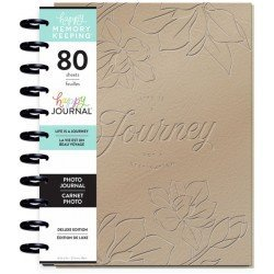 Big Deluxe Memory Keeping Photo Journal - Life is a journey - MAMBI