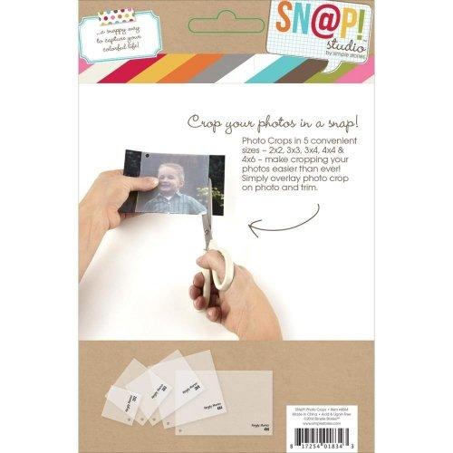 Outil pour retailler vos photos - SN@P! Photo Crops - Simple Stories