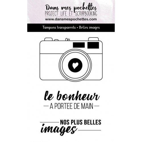 Tampon clear - Belles images - Dans mes pochettes