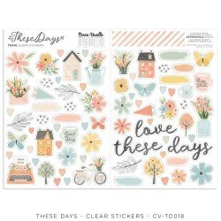 Stickers transparents - These days - Cocoa Vanilla