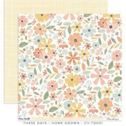 Papier 30 x 30 - Home Grown - These days - Cocoa Vanilla