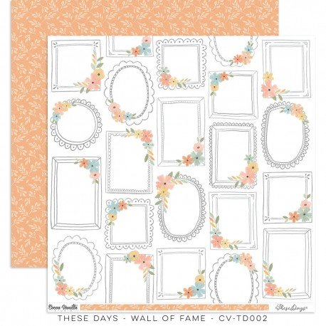Papier 30 x 30 - Wall of fame - These days - Cocoa Vanilla