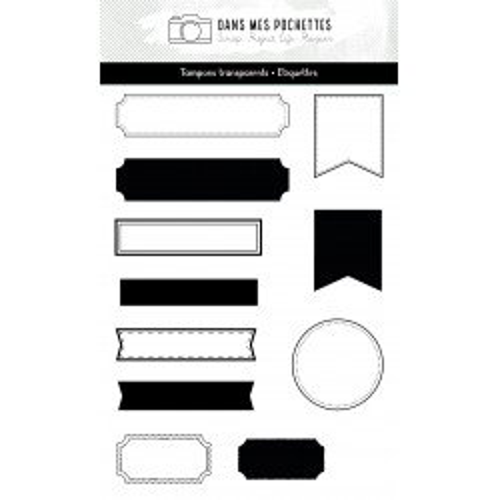Tampon clear - Etiquettes -...