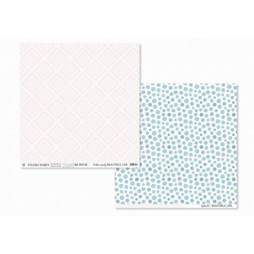 Papier 30x30 - Cotton Candy...