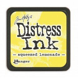 Mini encreur jaune Distress - Squeezed lemonade - Ranger