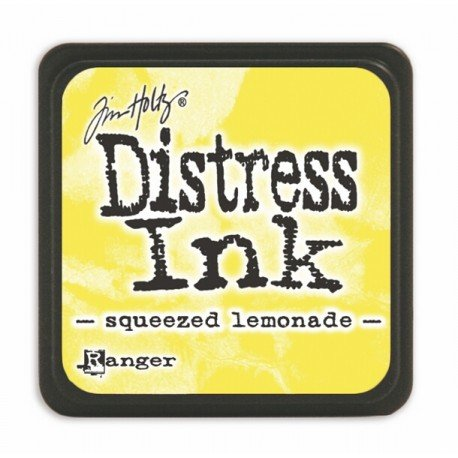 Mini encreur jaune Distress -Squeezed lemonade - Ranger