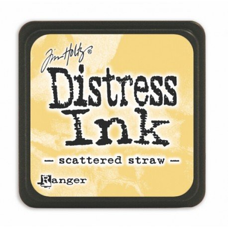 Mini encreur jaune Distress - Scattered straw - Ranger