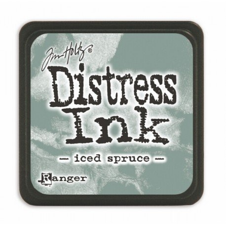 Mini encreur gris Distress - Iced spruce - Ranger