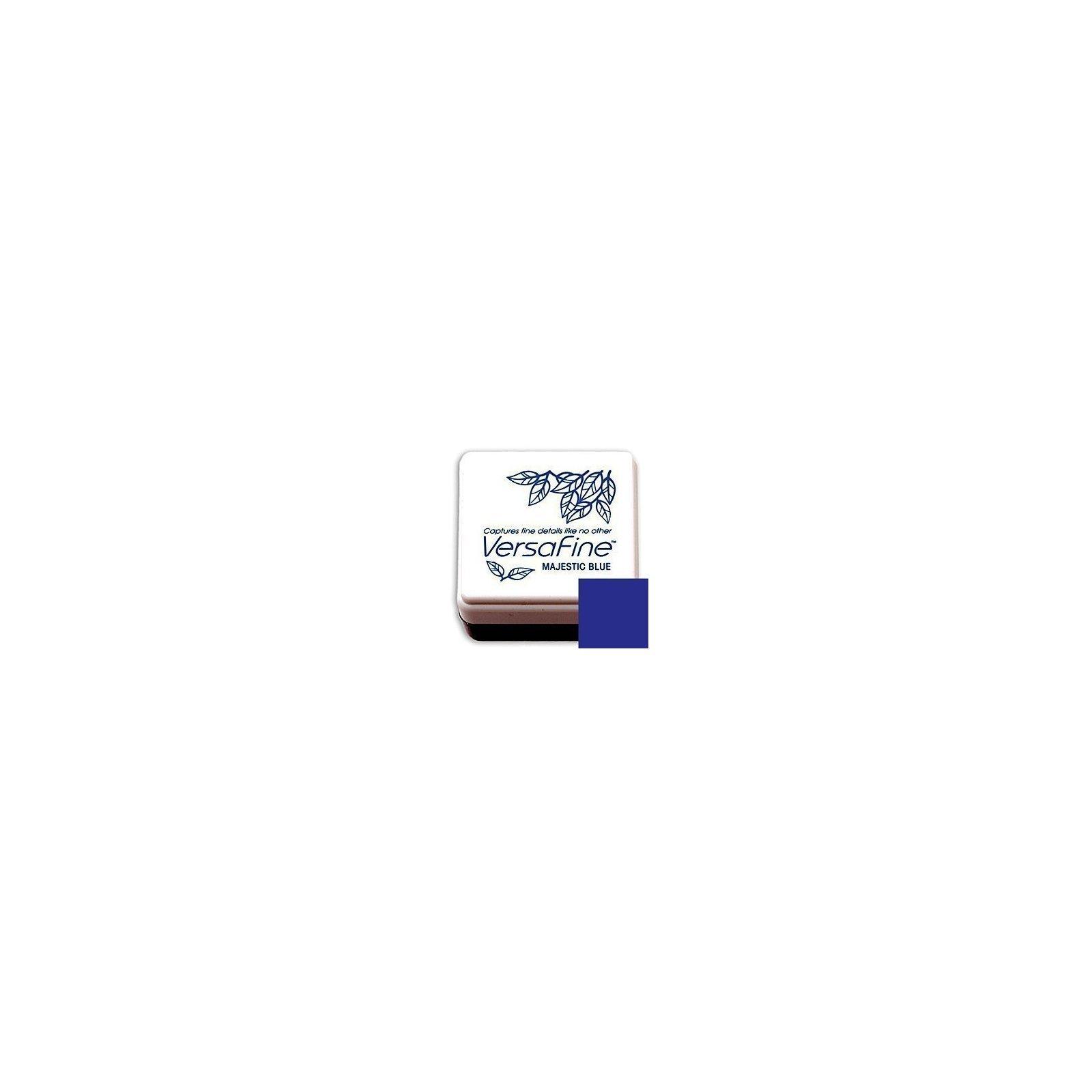 Mini-encreur Versafine bleu - Majestic Blue - Tsukineko